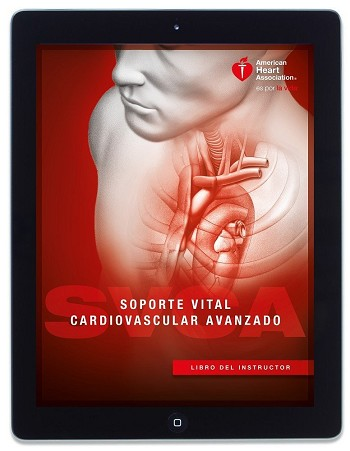 AHA ACLS Instructor Manual eBook - Spanish