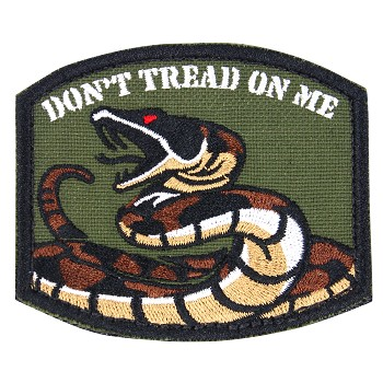 Embroidered DTOM Patch ( 6 PCS / PACK )