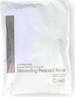 Recording Resusci Anne Disposable Airway 24/Pack
