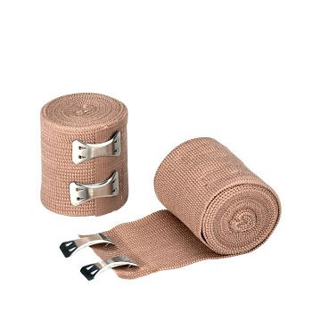 "Elastic Bandage (Ace) with 2 Fasteners (2"" x 5 yds, Latex Free)"