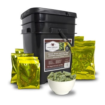 360 Serv. Freeze Dried Vegetable & Sauces
