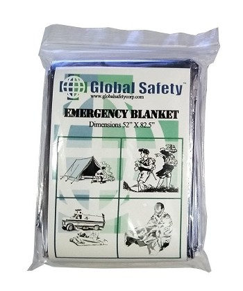 "CPR Savers Large Solar Blanket - 84"" x 55"""