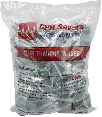 CPR Micromask Training Mouthpiece (Case of 50)