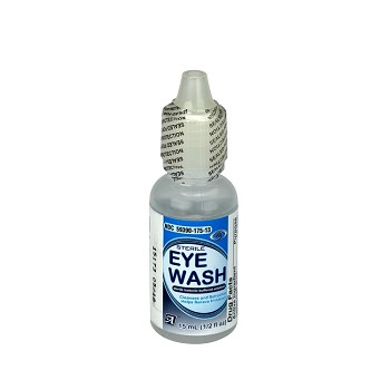 Eye Wash, 15mL Bottle