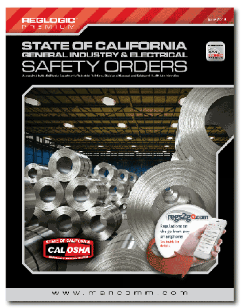 Cal/OSHA General Industry & Electrical Safety Orders Book