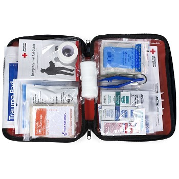 """Be Red Cross Ready"" First Aid Pack"