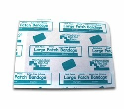 "2"" x 3"" Large Patch Bandage (Box of 25)"