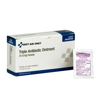 Triple Antibiotic Ointment Pack (.5 gm) - 25 per Box