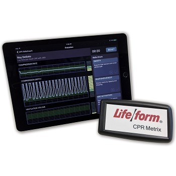CPR Metrix Control Box and iPad