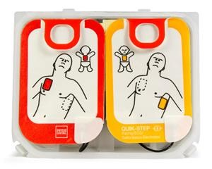 Lifepak CR2 Adult/Child Quik-Step 4-Year Electrode Pad