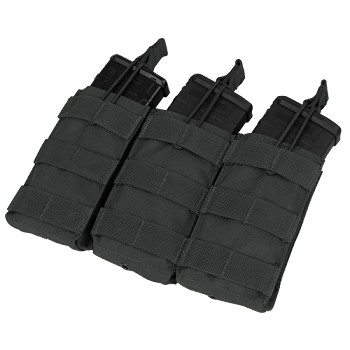 Triple M4/M16 Open Top Mag Pouch, Black