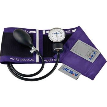 Calibra Pro Aneroid Sphygmomanometer (Purple)