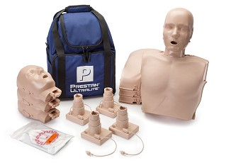 PRESTAN® Ultralite CPR Training Manikins with CPR Feedback - 4-Pack