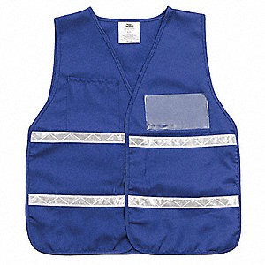 Legend Safety Vests with Clear Insert Legends