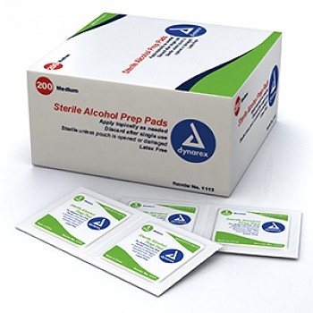 Alcohol Wipes (Medium) - Box of 200