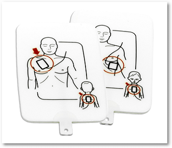 AED Trainer Pads for PRESTAN® Professional AED Trainer