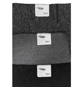KEMP USA Gray 80% Wool Blanket