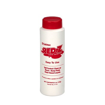 Red-Z Spill Clean-Up Powder, 8 oz. Shaker