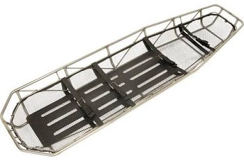 Military Type II S.S. Basket Stretcher with Aluminum Slats
