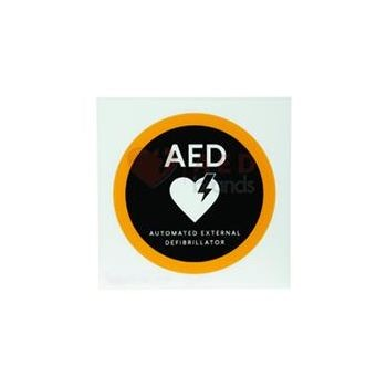 "AED Flat 8"" Wall Sign"
