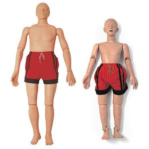 Water Rescue CPR Manikin (Adolescent or Adult Model Options)