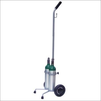 M6 Dual Cylinder Cart with Adjustable Handle