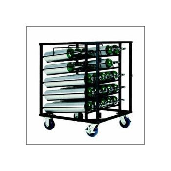 D/E Layered 25 Cylinder Cart