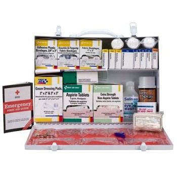 Industrial OSHA ANSI First Aid Station - Up to 75 People