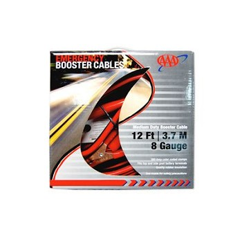 AAA Medium Duty Booster Cables (12'/8G)