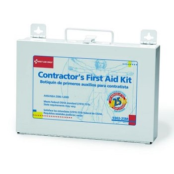 Contractor's Kit - 177-Piece (25 person, Metal Case)