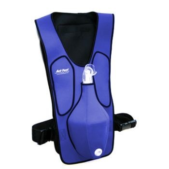 Act Fast Rescue Choking Vest (Blue or Red)