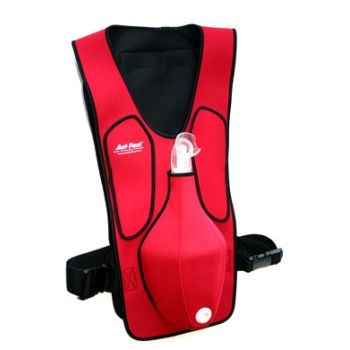 Act Fast Rescue Choking Vest (Red)