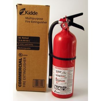 First Alert 5 lb Pro Fire Extinguisher