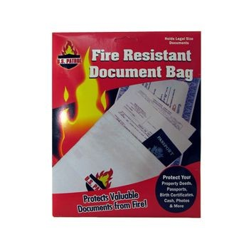 Fire Document Bag