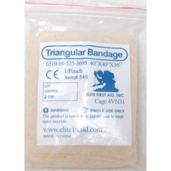 Triangular Bandage (Tan)