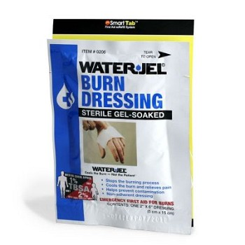 "SC Refill Water Jel Burn Dressing (2"" x 6"") 1/box"