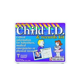 Child I.D. and Records Kit (Mini Plastic Case)