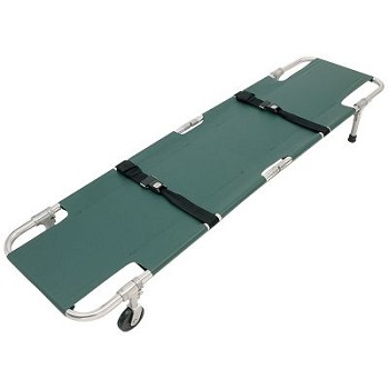 Easy Fold Swivel Wheeled Stretcher