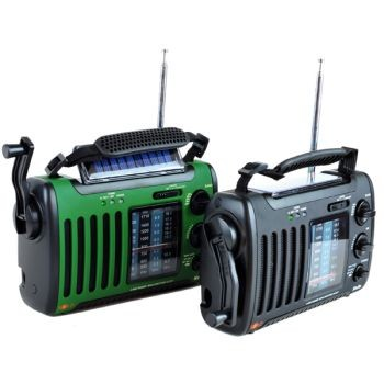 KA450 Voyager Mini Solar and Dynamo Powered Radio