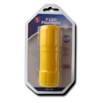 7 LED Water Resistant Flashlight