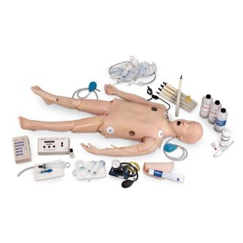 Deluxe Child CRiSis Manikin with ECG