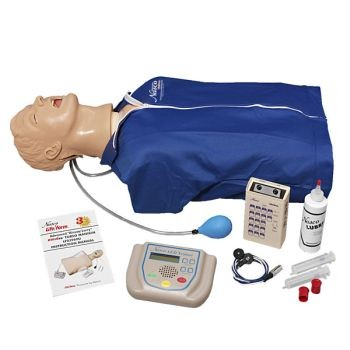 "Advanced ""Airway Larry"" Torso with ECG Simulator & AED Trainer Package"