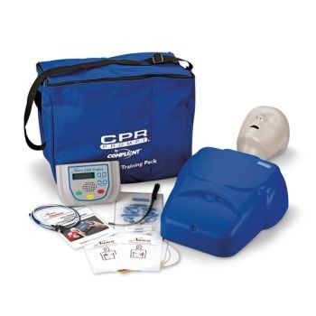 CPR Prompt Complete AED Training System (Tan or Blue)