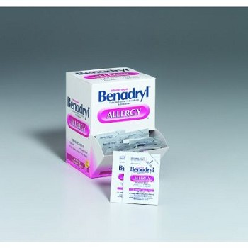 Benadryl - 120 Tablets per Box