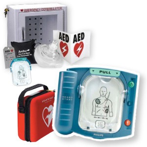 Philips Onsite Automated External Defibrillator AED Package