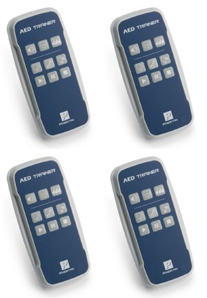 4 Remotes for PRESTAN® Professional AED Trainer
