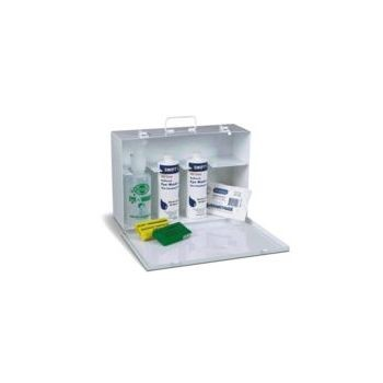 Swift First Aid Complete Emergency Eye Wash Cabinet