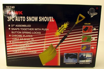 3 Piece Snow Shovel