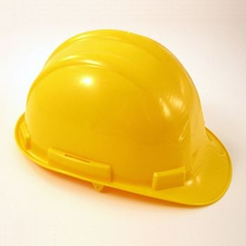 Hard Hat 4 Point with Ratchet (Yellow)