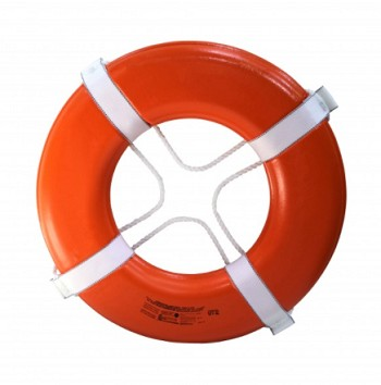 "KEMP USA COAST GUARD APPROVED 24"" RING BUOY - ORANGE"